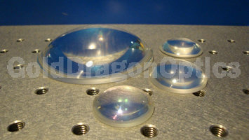 Fused  Silica  Plano-convex Spherical Lenses