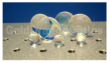 Fused   Silica   Bi-convex  Spherical  Lenses