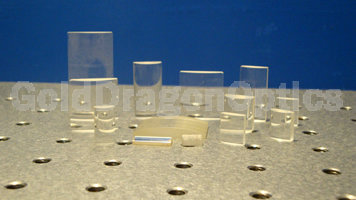 Fused  Silica  Plano-convex Cylindrical Lenses