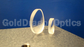 Fused  Silica  Round  Plano-concave Cylindrical Lenses