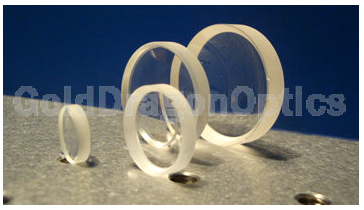CaF2   Negative   Meniscus  Spherical Lenses