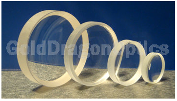 CaF2   Positive   Meniscus  Spherical Lenses