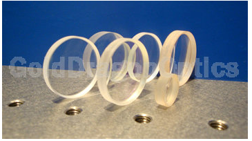 CaF2 Plano-concave Spherical Lenses