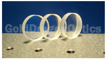 CaF2  Bi-concave  Spherical  Lenses